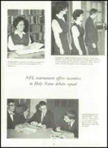 1963 Holy Name High School Yearbook Page 50 & 51