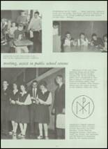 1963 Holy Name High School Yearbook Page 58 & 59