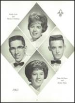 1963 Holy Name High School Yearbook Page 100 & 101