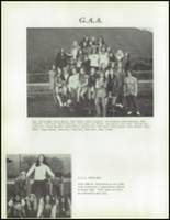 1973 Hoopa Valley High School Yearbook Page 84 & 85