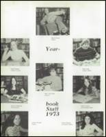 1973 Hoopa Valley High School Yearbook Page 94 & 95
