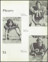 1973 Hoopa Valley High School Yearbook Page 100 & 101