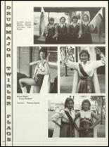 1985 East Chambers High School Yearbook Page 72 & 73