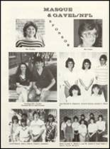 1985 East Chambers High School Yearbook Page 80 & 81