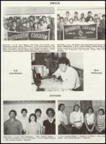 1985 East Chambers High School Yearbook Page 84 & 85