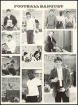 1985 East Chambers High School Yearbook Page 86 & 87