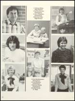 1985 East Chambers High School Yearbook Page 126 & 127