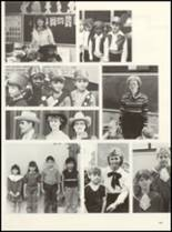 1985 East Chambers High School Yearbook Page 156 & 157