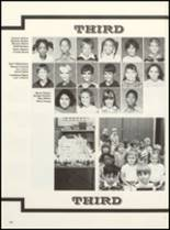 1985 East Chambers High School Yearbook Page 166 & 167