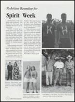 1999 Kingston High School Yearbook Page 106 & 107