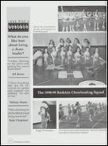 1999 Kingston High School Yearbook Page 138 & 139