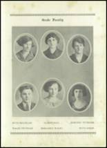 1924 Shiloh High School Yearbook Page 16 & 17