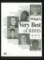 1999 Red Bank High School Yearbook Page 270 & 271