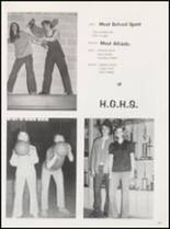 1973 Harmony Grove High School Yearbook Page 38 & 39