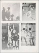 1973 Harmony Grove High School Yearbook Page 54 & 55