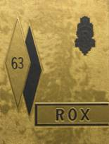 1963 Yearbook Roxana High School