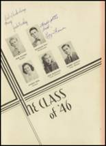 1946 Monroe High School Yearbook Page 10 & 11