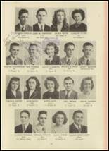 1946 Monroe High School Yearbook Page 16 & 17