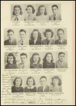 1946 Monroe High School Yearbook Page 22 & 23