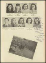 1946 Monroe High School Yearbook Page 24 & 25