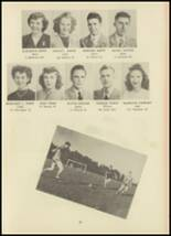 1946 Monroe High School Yearbook Page 30 & 31
