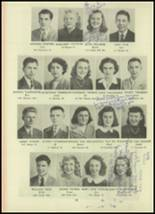 1946 Monroe High School Yearbook Page 32 & 33