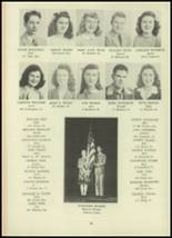 1946 Monroe High School Yearbook Page 34 & 35
