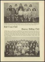 1946 Monroe High School Yearbook Page 56 & 57