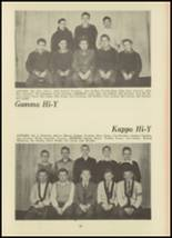 1946 Monroe High School Yearbook Page 62 & 63