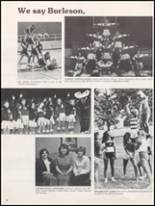 1983 Burleson High School Yearbook Page 50 & 51