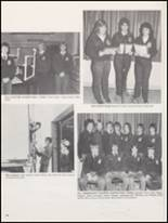 1983 Burleson High School Yearbook Page 84 & 85