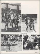 1983 Burleson High School Yearbook Page 124 & 125