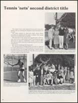1983 Burleson High School Yearbook Page 140 & 141