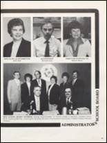 1983 Burleson High School Yearbook Page 156 & 157