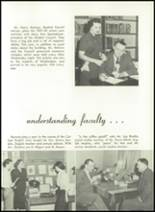 1952 Washington High School Yearbook Page 16 & 17