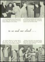 1952 Washington High School Yearbook Page 20 & 21