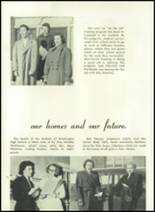 1952 Washington High School Yearbook Page 22 & 23