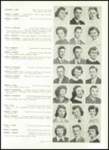 1952 Washington High School Yearbook Page 28 & 29
