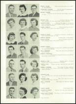 1952 Washington High School Yearbook Page 32 & 33