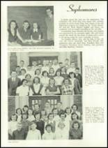 1952 Washington High School Yearbook Page 42 & 43