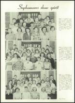 1952 Washington High School Yearbook Page 44 & 45