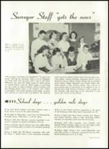 1952 Washington High School Yearbook Page 54 & 55