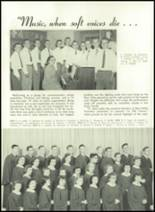 1952 Washington High School Yearbook Page 56 & 57