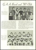 1952 Washington High School Yearbook Page 64 & 65