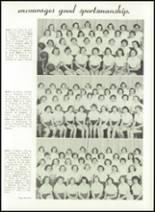 1952 Washington High School Yearbook Page 66 & 67