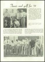1952 Washington High School Yearbook Page 68 & 69
