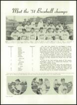 1952 Washington High School Yearbook Page 70 & 71