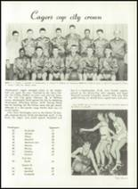 1952 Washington High School Yearbook Page 72 & 73