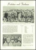 1952 Washington High School Yearbook Page 74 & 75