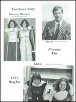 1977 Central High School Yearbook Page 86 & 87
